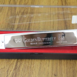 Golden Butterfly Senior Harmonica (No.1-110)